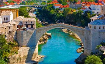 Bosnia,where East and West meet