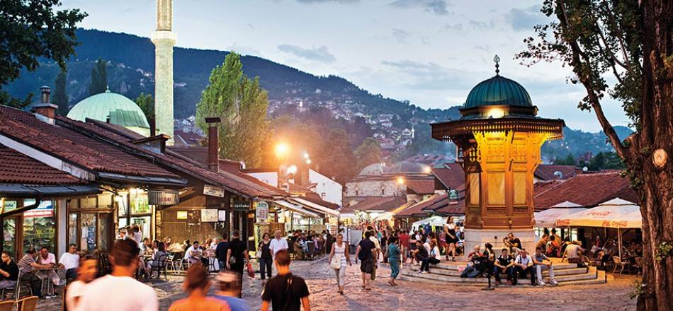 Sarajevo an inescapable part of world tourist maps
