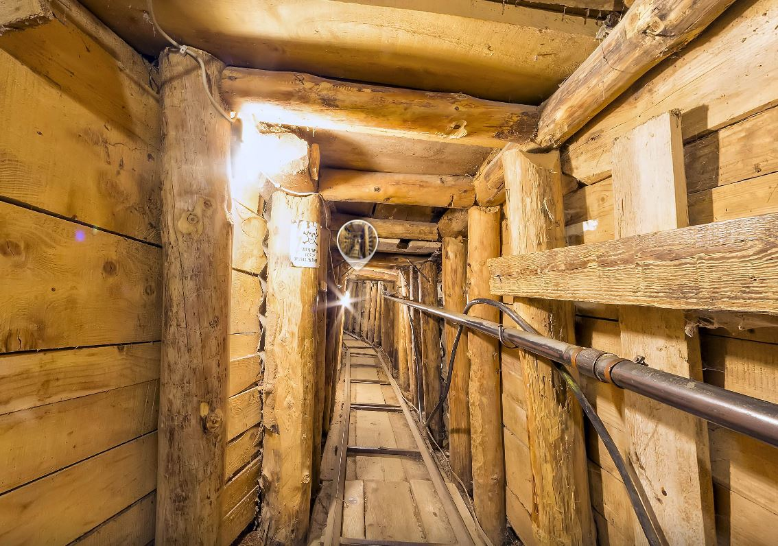 Virtual Tour through Sarajevo Tunnel of Hope